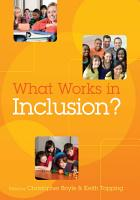 What Works In Inclusion  PDF