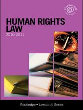 Human Rights Lawcards 2010-2011: Edition 3