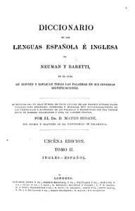 A Dictionary of the Spanish and English Languages PDF