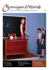 Chroniques d'Altaride n°004 Septembre 2012: La Rentrée