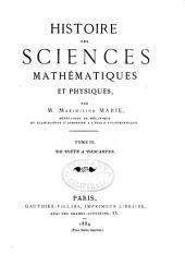 De Viète à Descartes. 1884