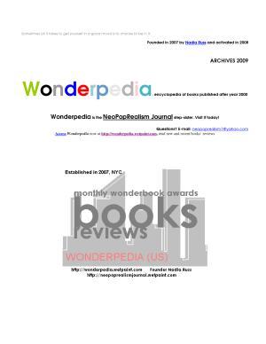 Wonderpedia   NeoPopRealism Archive 2009