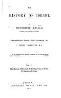 The History of Israel  The history of Ezra and of the hagiocracy in Israel to the time of Christ PDF