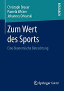 Zum Wert des Sports PDF