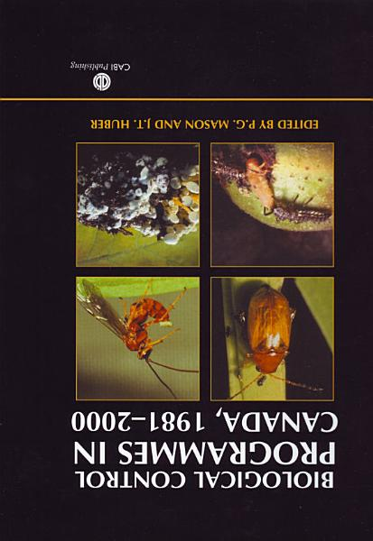 Download Biological Control Programmes in Canada  1981 2000 Book