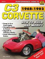 C3 Corvette  How to Build   Modify 1968   1982 PDF
