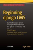 Beginning Django CMS PDF