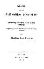 Handbuch der Geschichte der Griechisch-romischen Philosophie: Band 3,Teil 1