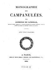 Monographie des Campanulées