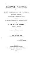 M  thode pratique  ou  L art d apprendre le fran  ais facilement et    fond  sans le secours de la traduction   crite PDF