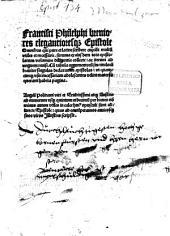 Breviores elegantioresque Epistole ex epistolarum volumine collecte