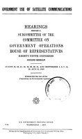 Government Use of Satellite Communications PDF