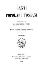 Canti popolari toscani
