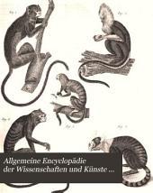 Allgemeine Encyclopädie der Wissenschaften und Künste ...