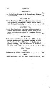 The Philosophy of Death: Or, A General Medical and Statistical Treatise on the Nature and Causes of Human Mortality