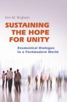 Sustaining the Hope for Unity PDF