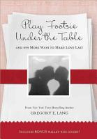 Play Footsie Under the Table PDF