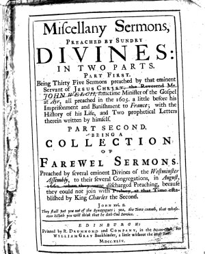 Miscellany Sermons  Preached by Sundry Divines PDF