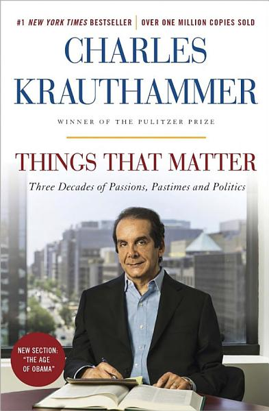 Download Things That Matter Book