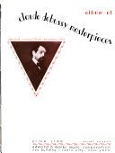 Album of Claude Debussy masterpieces PDF