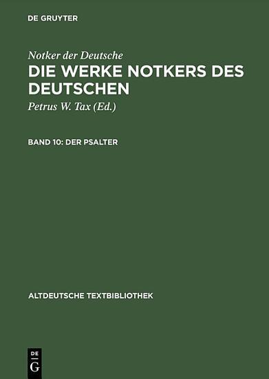 Der Psalter PDF