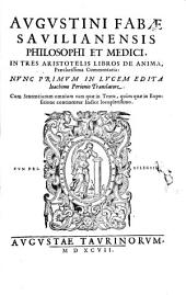In tres Aristotelis Libros de Anima Commentaria