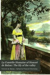 La Comédie Humaine of Honoré de Balzac: The lily of the valley