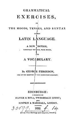 Latin grammar and junior scholarship papers