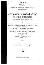 Addresses Delivered at the Closing Exercises