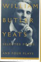 Selected Poems And Four Plays PDF