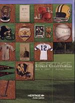 HSC Sports Collectibles Dallas Auction Catalog #707