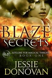 Blaze of Secrets (Asylums for Magical Threats, #1)