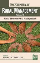 Encyclopaedia of Rural Management