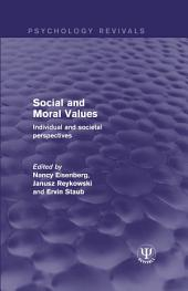Social and Moral Values: Individual and Societal Perspectives