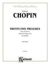 Preludes: For Intermediate to Advanced Piano