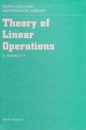 Theory of Linear Operations