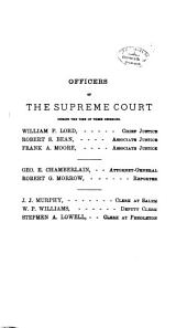 Reports of Cases Decided in the Supreme Court of the State of Oregon: Volume 25