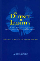 In Defence of Identity PDF