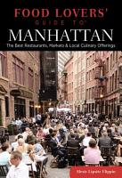 Food Lovers  Guide to   Manhattan PDF