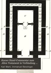 Kurzer Hand-Commentar zum Alten Testament in Verbindung mit I. Bensinger [et al.]: Band 4