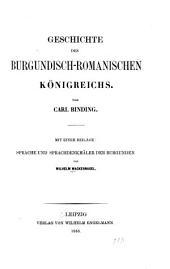Geschichte des Burgundisch-Romanischen Königreichs