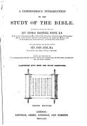 Compendious Introduction to the Study of the Bible