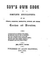 The Boy s Own Book PDF