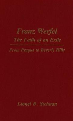 Franz Werfel  the Faith of an Exile PDF