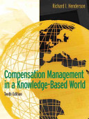 Compensation Management in a Knowledge Based World PDF