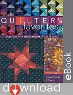 Quilter's Favorites--Pieced Points & Stars