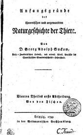 Anfangsgründe der theoretischen und angewandten Naturgeschichte der Thiere