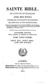 Sainte Bible en latin et en français: ouvrage enrichi de cartes géographiques et de figures, Volume21