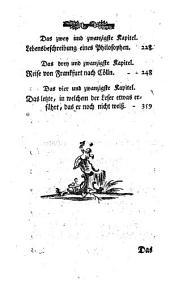 Familiengeschichte und Abendtheuer Juncker Ferdinands v. Thon: Band 1