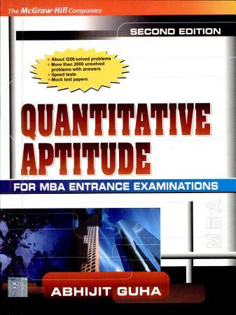 Quantitave Aptitude For Mba Ent Exam PDF